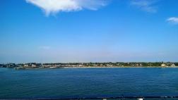 My last view of Gedser, Denmark.