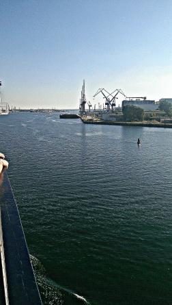 My first gaze of Rostock.