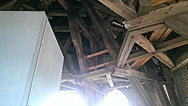 The roof the Skt. Petri Kirche