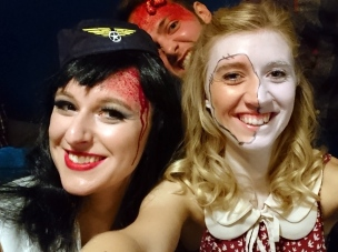 Halloween party in Rostock.