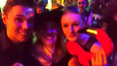 Christoph, me, and Karo.